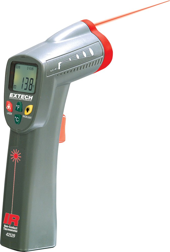 Extech 42529-NIST Wide Range IR Thermometer with  NIST