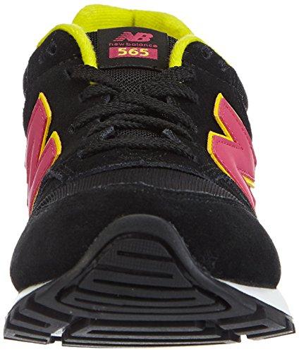 New Balance M574 D (13H) - Zapatillas para niño Negro