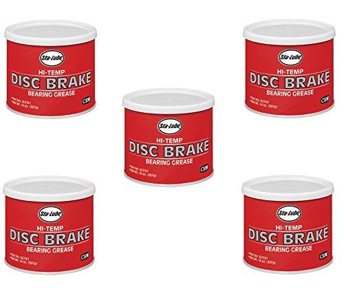 Sta-Lube CRC SL3161 1 Lb Disc Brake Hi-Temp Bearing Grease (5) -  Sta Lube