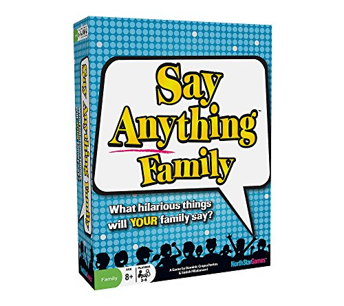 NorthStar Games Say Anything Game Family Edition