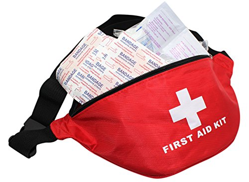 - Outdoor First Aid Kit Fanny Pack Camping Hiking Emergency Rescue Kit,Compact for Emergency at Home, Outdoors, Car, Camping, Workplace, Hiking Survival