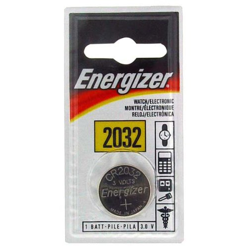 Energizer ECR2032BP 3 Volt Watch & Calculator Battery