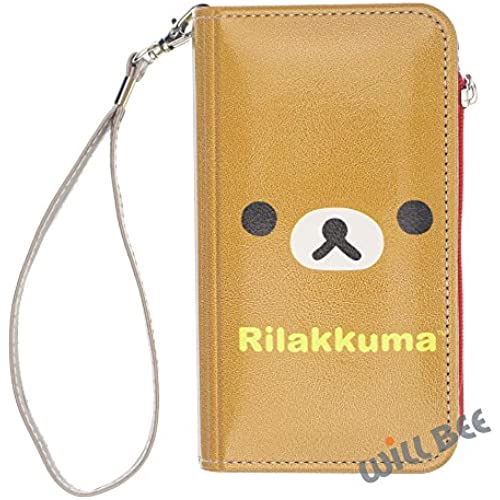 Galaxy S7 Edge Case RILAKKUMA Cute Diary Wallet Flip Synthetic Leather Anti-shock Cover (Wallet V Rilakkuma) Sales