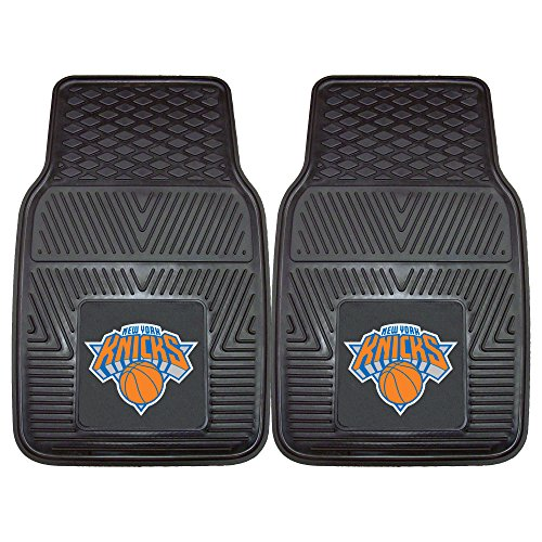 Fanmats 9358 NBA-New York Knicks Vinyl Universal Heavy Duty Fan Floor ()