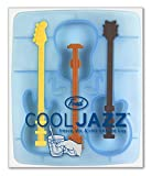 Fred & Friends COOL JAZZ Guitar Ice Tray and Stirrers