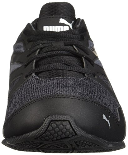 Sneaker Puma Uomo Tazon Moderno Heather Sneaker Nero-asfalto-puma Argento