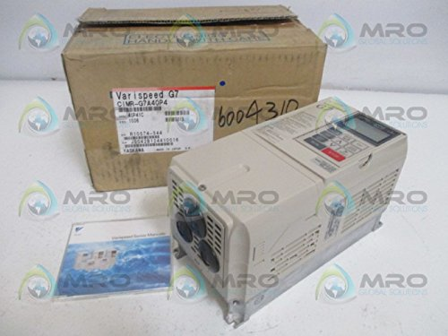 YASKAWA ELECTRIC VARISPEED G7 CIMR-G7A40P4 INVERTER 3PH 380-480VNEW IN BOX
