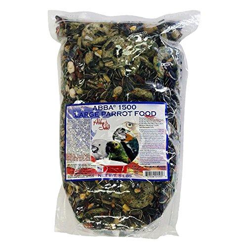 ABBA 1500 Bird Foods Large Parrot Food 5lbs