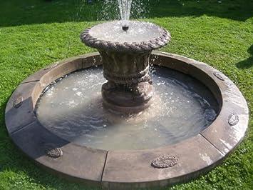 Stein Garten Wasser Fountain. Jardineer Badewanne Füllfederhalter Und 7 Ft  7,6 Cm Single