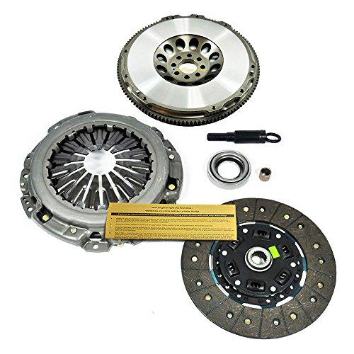 (EFT HD CLUTCH KIT+FORGED RACE FLYWHEEL fits INFINITI G35 NISSAN 350Z 3.5L VQ35DE)
