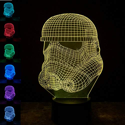 FACETO Wind Super Heros LED 3D Noche Luces Star Wars Creativa ...