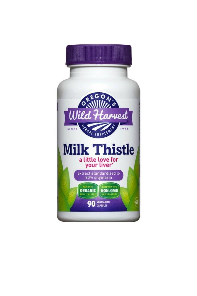Oregons Wild Harvest Milk Thistle -Organic - 90 caps