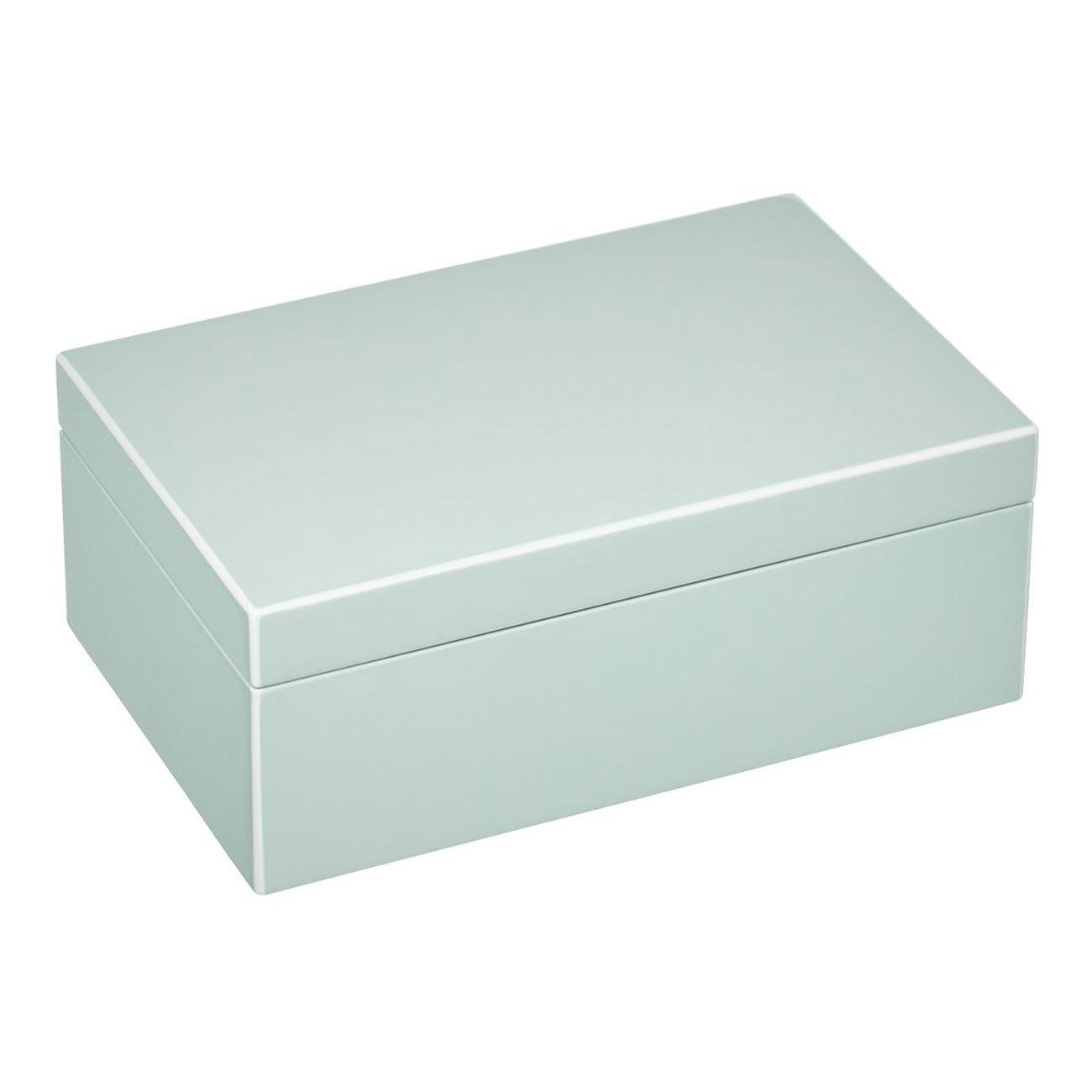 Giftcompany Tang, Schmuckbox, S, sage, MDF, sage, 22x14x8,3cm