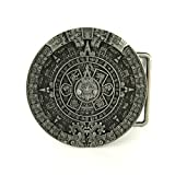Belt Buckle - Aztec Calendar