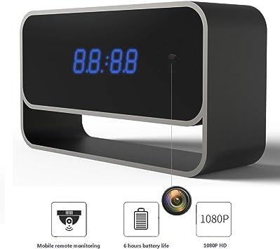 WiFi Cámara espía Oculta Monitor de bebé Reloj 1080 P Inicio