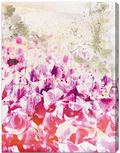 The Oliver Gal Artist Co. 'Gold Spring' Canvas Art - spring wall decor