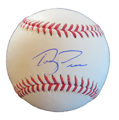 (Terry Francona Autographed Official Major League Baseball W/PROOF, Picture of Terry Signing For Us, Cleveland Indians, Boston Red Sox, World Series Champion, 2007 World Series, 2004 World)
