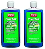 CRC TrueTap Aqua Water Soluble Cutting Fluid, 16 fl oz Bottle, Blue (2 Pack)