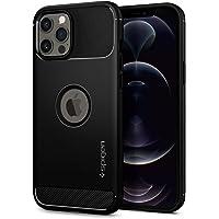 Spigen iPhone 12 Pro Max Case Rugged Armor - Matte Black