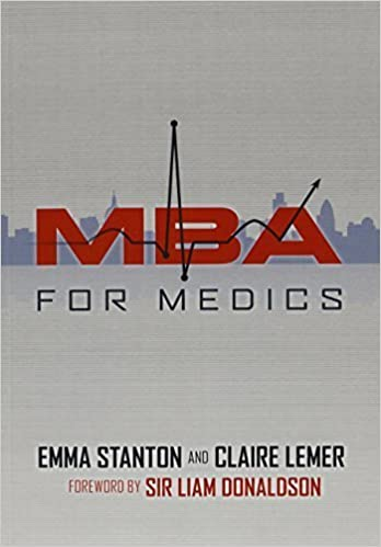 Book MBA for Medics by Emma Stanton (2010-09-25)