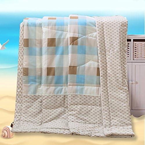 Couette de plumes d'hiver Été Frais La Couette de Coton de l'air conditionné Peut être lavée Simple et Double Section Mince Literie A+ (Taille : 200 * 230cm)