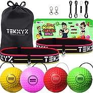 TEKXYZ Boxing Reflex Ball Family Pack