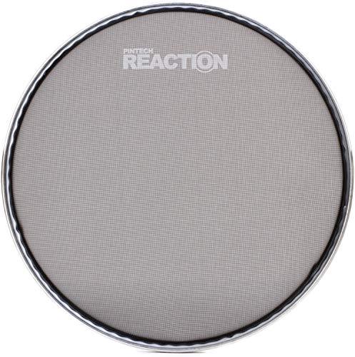 Pintech Percussion RH-08B Black Reaction Series Mesh Head 8″