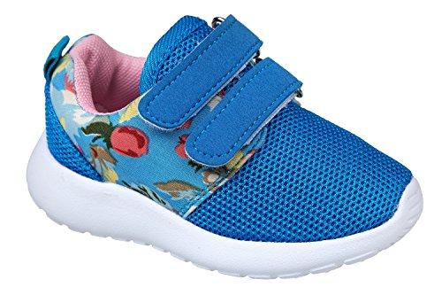 gibra - Zapatillas de tela para niña Azul - azul