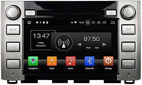 KUNFINE Android 9.0 8核自動車GPSナビゲーション マルチメディアプレーヤー 自動車音響 トヨタ TOYOTA Sequoia/Tundra 2014 2015 2016 自動車ラジオハンドル制御WiFiブルースティスト
