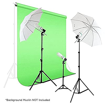 Photography Photo Portrait Studio 600W Day Light Umbrella Continuous Lighting Kit by LimoStudio, LMS103 by Geatex