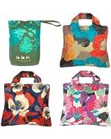 Envirosax Tropical Bloom, Set of 3 Reusable Shopping Bags