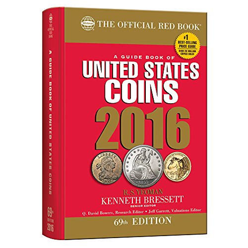 A Guide Book of United States Coins 2016 Hidden Spiral (Guide Book of United States Coins (Cloth Spiral))
