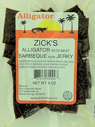 Alligator-BBQ-Jerky-6oz-Exotic-Meat-Wild-Game-Beef-Jerky