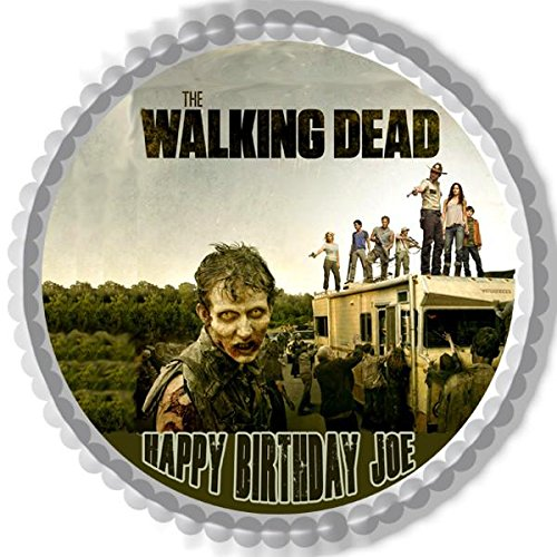 The Walking Dead (Nr3) - Edible Cake Topper - 6