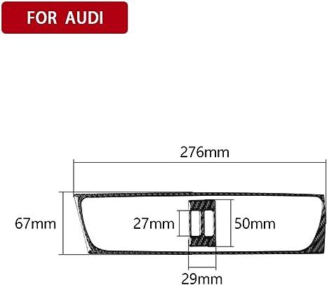 Karbonfaser Aufkleber Für Lüftungsschlitze Für Audia4 A4 B8 A5 Q5 Auto