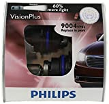 Philips 9004 VisionPlus Replacement Bulb, (Pack of 2)