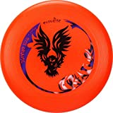 Eurodisc 175g 4.0 100% Organic Ultimate Frisbee Competition Disc not Discraft, exclusive scratch resistant foto print CREATURE ORANGE