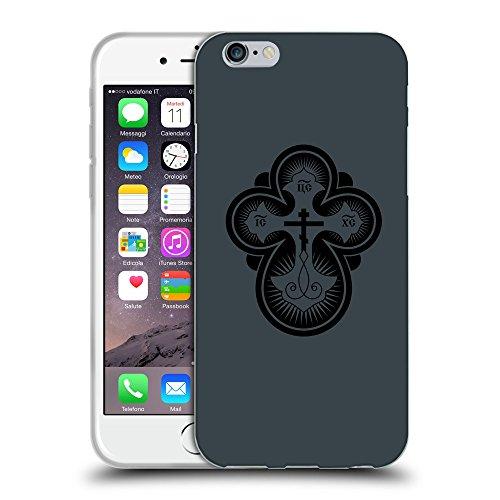 "GoGoMobile Coque de Protection TPU Silicone Case pour // Q07870606 Christian Cross 12 Arsenic // Apple iPhone 6 4.7"""