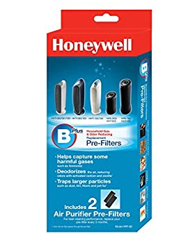 Honeywell Hrf-b2 Filter B Household Odor & Gas Reducing Pre-filter, 2 Pack 1