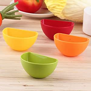 Kitchen Seasoning Box Assorted Salad Sauce Ketchup Jam Dip Clip Cup Bowl Saucer Tableware
