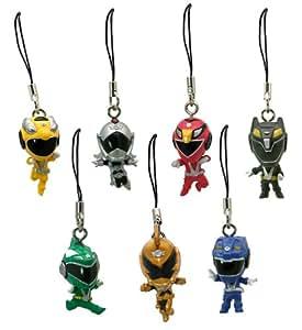 Power Ranger: R.P.M. (Engine Sentai Go-Onger) Mini-Figure Charms [1 set of 7 charms] (Japanese Import)
