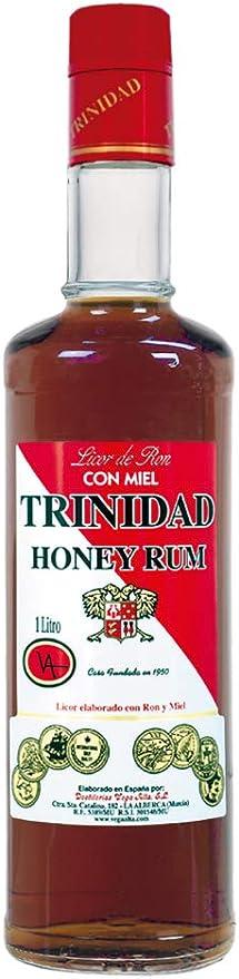 LICOR DE RON CON MIEL TRINIDAD 100 CL.: Amazon.es ...