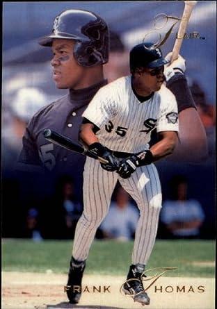 Amazoncom 1993 Flair Baseball Card 189 Frank Thomas Mint