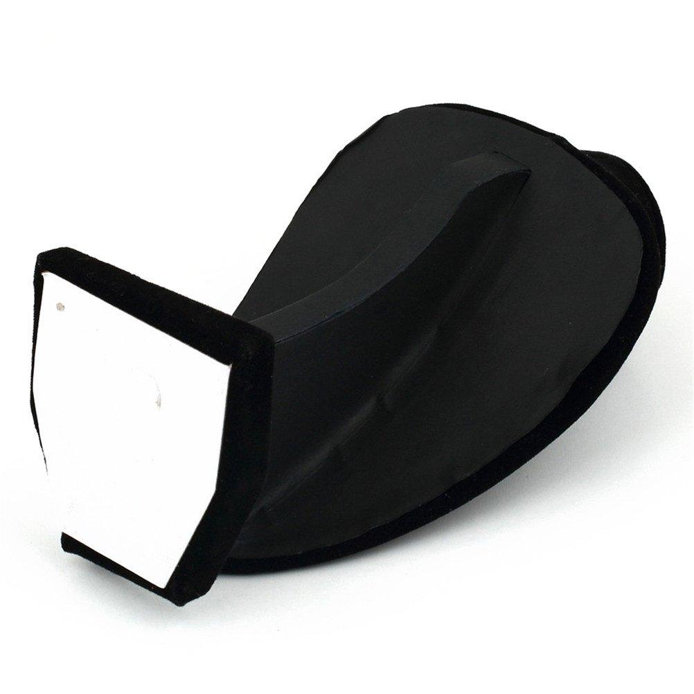 Display08 Support de pr/ésentation mannequin pour collier et pendentif en velours noir