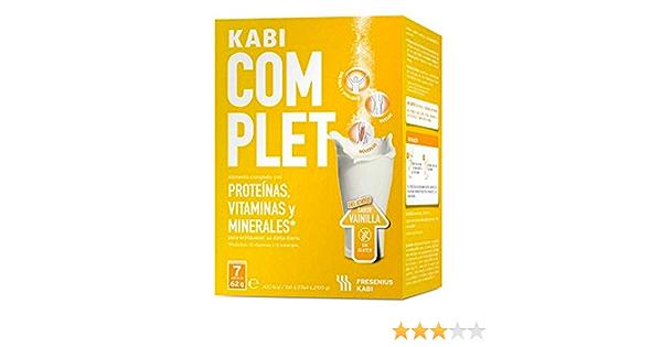 KABI COMPLET 7 SOBRES 62 GVAINILLA