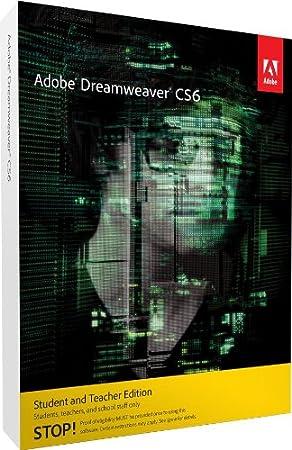 Adobe Dreamweaver CS6 Student and Teacher Edition Mac