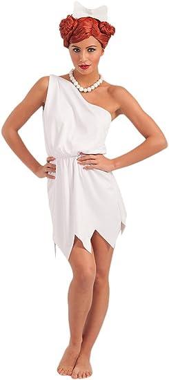 Carnival Toys - Disfraz Vilma en bolsa, talla única, color blanco ...