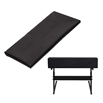 Timiy - Cubierta antipolvo para teclado de piano, 61 teclas, para Yamaha, Casio, Roland, Consolas y mucho más, color negro: Amazon.es: Instrumentos ...