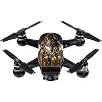 Skin For DJI Spark Mini – Wolf Dreams | MightySkins Protective, Durable, and Unique Vinyl Decal wrap cover | Easy To Apply, Remove, and Change Styles | Made in the USA