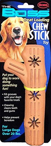 Boss Pet Large Rubber Chew Stick Treat Toy
